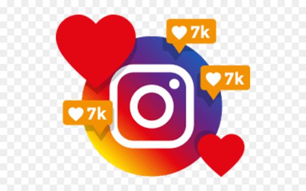 Commentaires et likes Instagram
